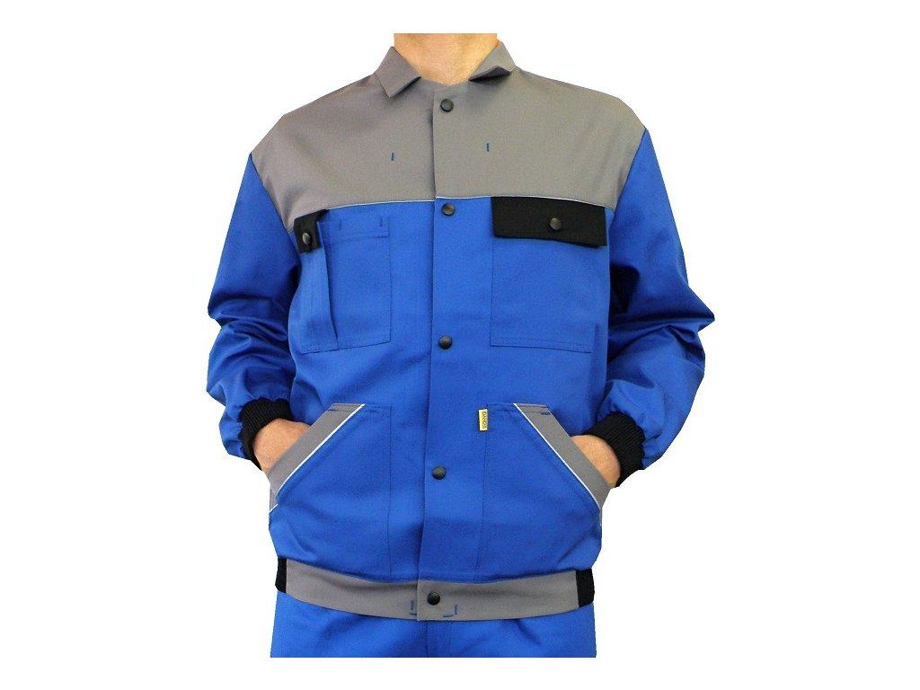 pracovni bunda craft modra