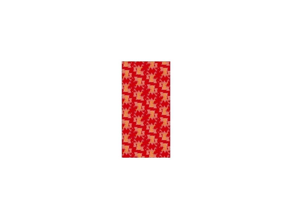 Šátek frog Red