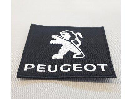Textilní nášivka Peugeot