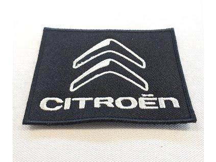Textilní nášivka Citroën