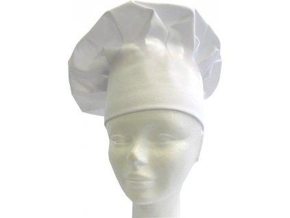 Kuchařská čepice bílá