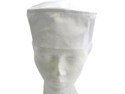 Kuchařská čepice Chef bílá