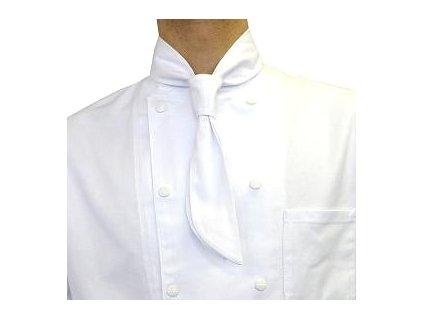 kucharska kravata bila detail