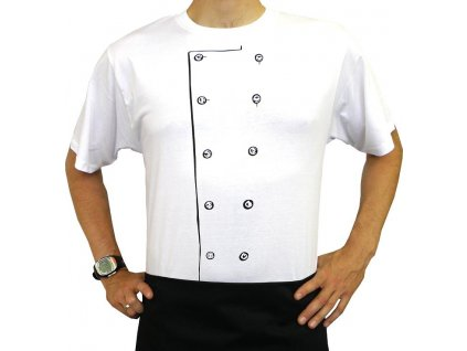 Tričko Kuchař bílé