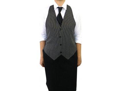 Kuchařská zástěra s vestou Oxford