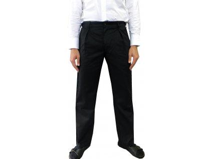 cisnicke kalhoty cerne panske 2
