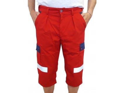 Oblečení pro zdravotníky - záchranářské oblečení - Reflexní Capri kalhoty Záchranář Plus 1
