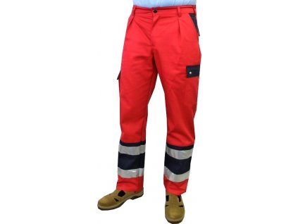 Oblečení pro zdravotníky - záchranářské oblečení - Reflexní kalhoty Záchranář Plus