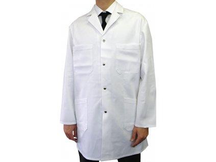 Pracovní plášť pánský bílý