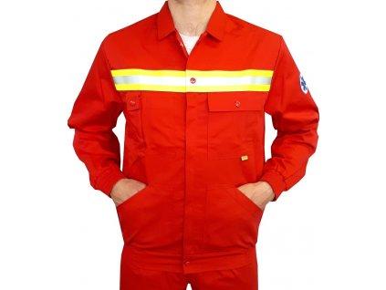 reflexni bunda zachranar cervena 1b