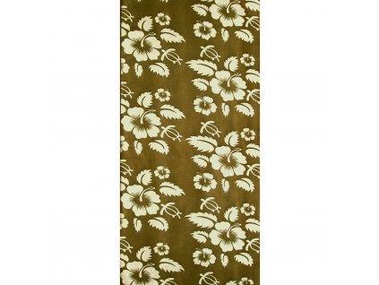 Multifunkční šátek Flower Olive