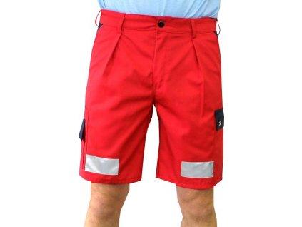 Oblečení pro zdravotníky - záchranářské oblečení - Reflexní kraťasy Záchranář Plus