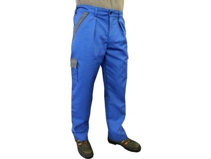 kalhoty praktik modro sede