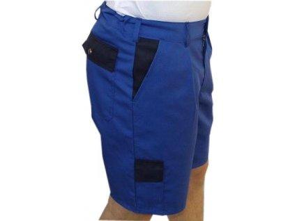 kalhoty modre kratasy