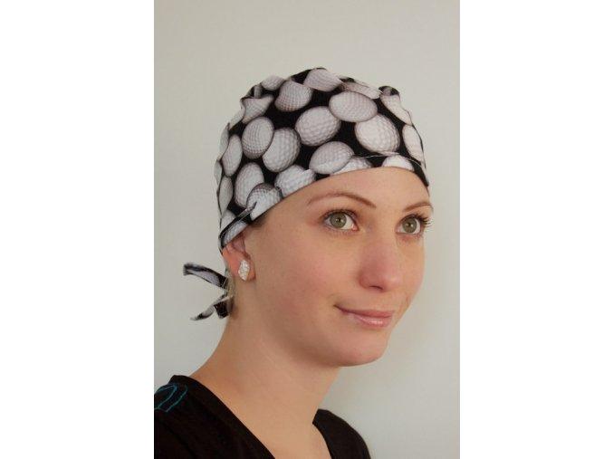 Chirurgická čepice - Golfová