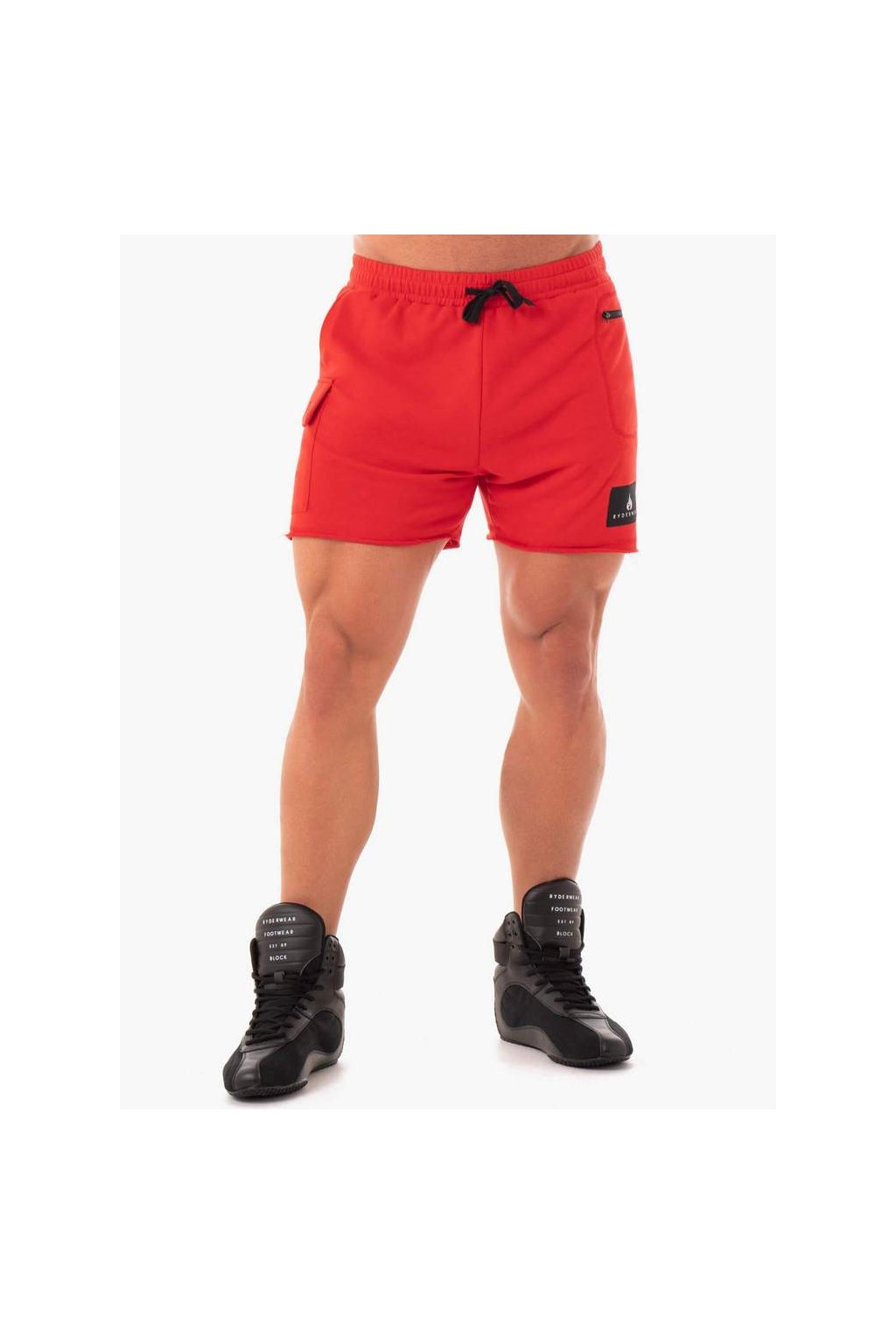 TRACK SHORTS RED 1 1000x1000