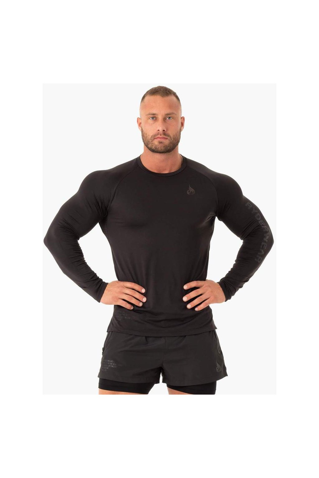 LONG SLEEVE TOP GRAPHITE 1 1000x1000