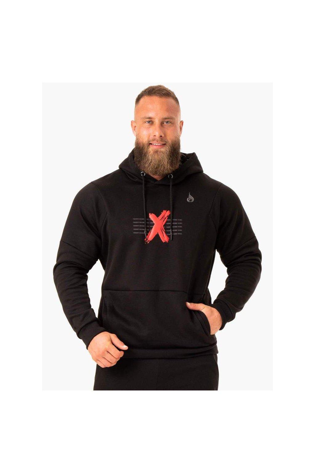 rwxkg fleece hoodie black clothing ryderwear 630845 1000x1000