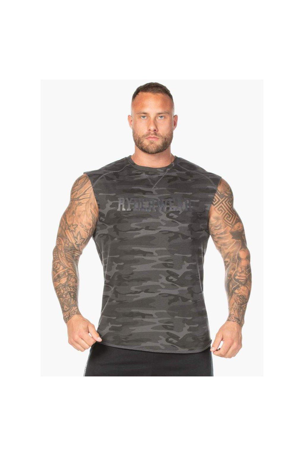camo fleece tank black camo clothing ryderwear 794922 1000x1000