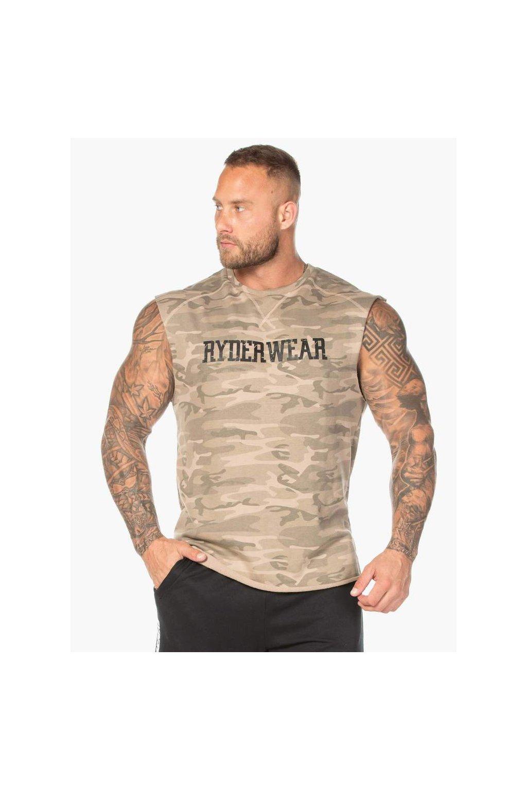 camo fleece tank tan camo clothing ryderwear 395884 1000x1000