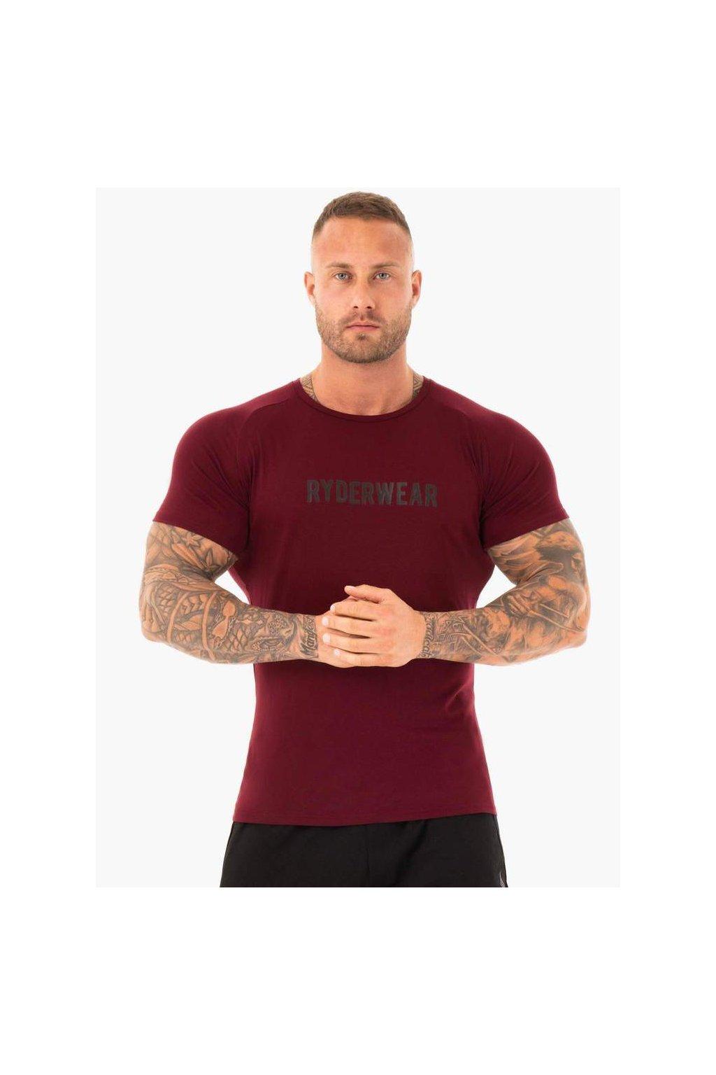 active t shirt burgundy clothing ryderwear 768958 1000x1000