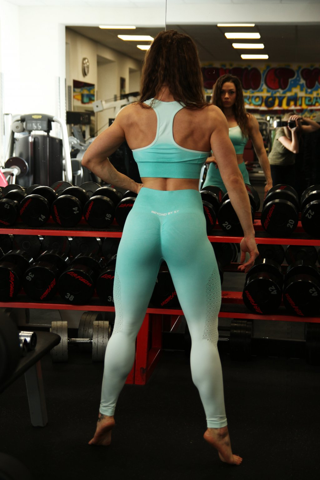 SEAMLESS SPRING SET - MINT