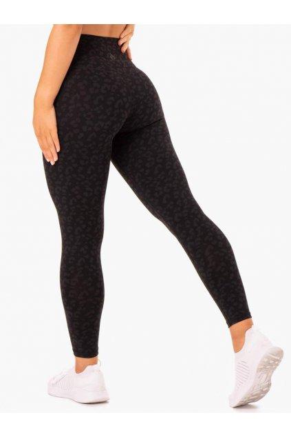 hybrid full length leggings black leopard clothing ryderwear 133935 1000x1000