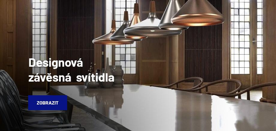 Designová závěsná svítidla