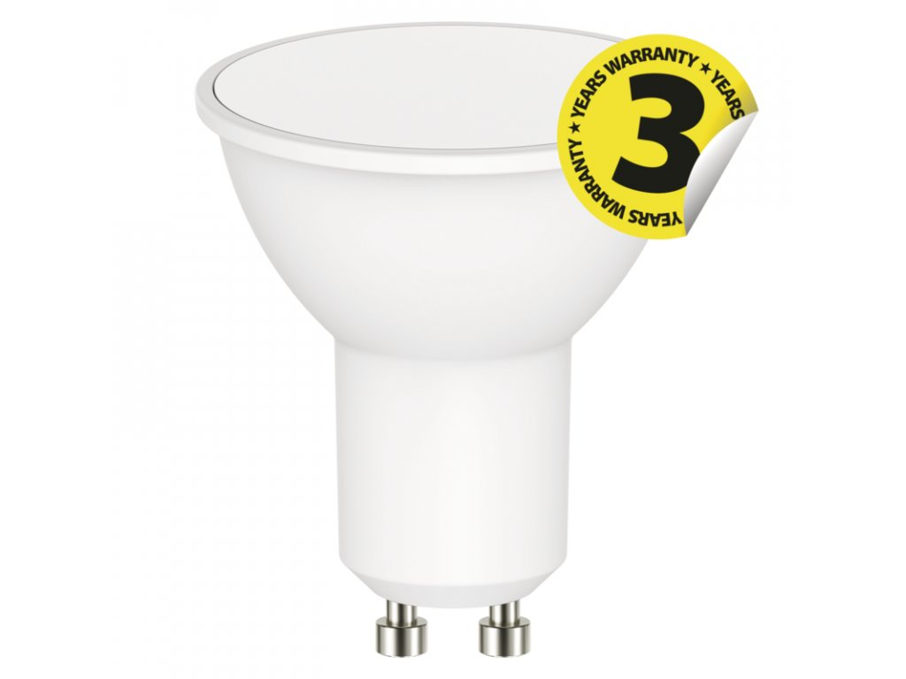 LED žárovka Classic MR16 5,5W GU10 teplá bílá