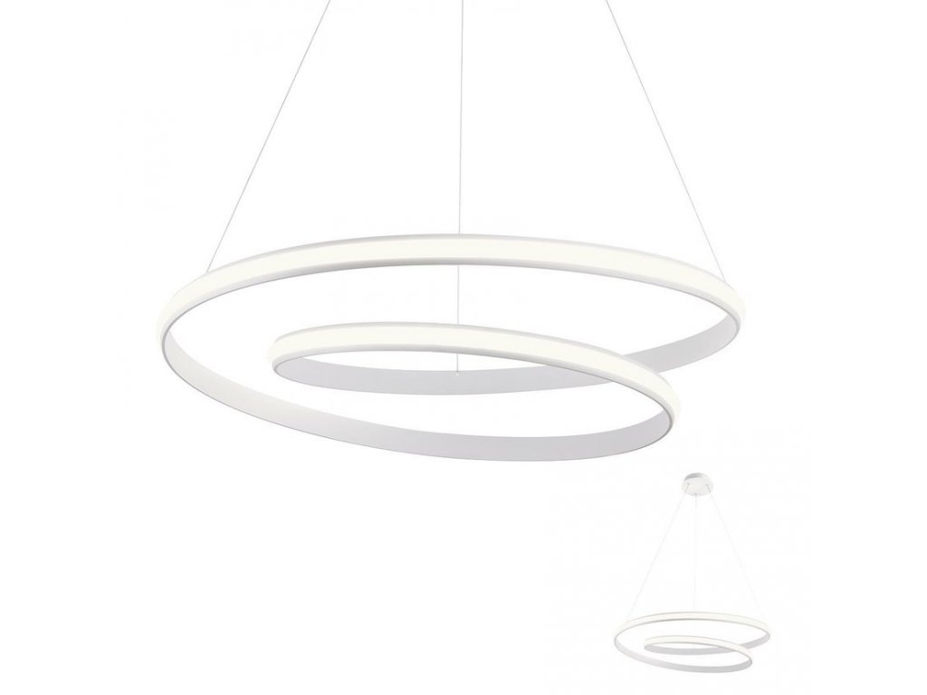 Závěsné LED svítidlo Torsion ø 740 mm, 3000K