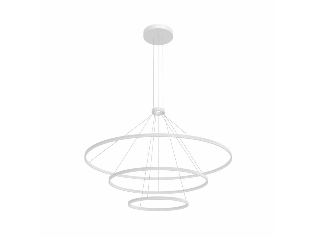 Závěsné LED svítidlo ORBIT ø 150 cm, v. 200 cm