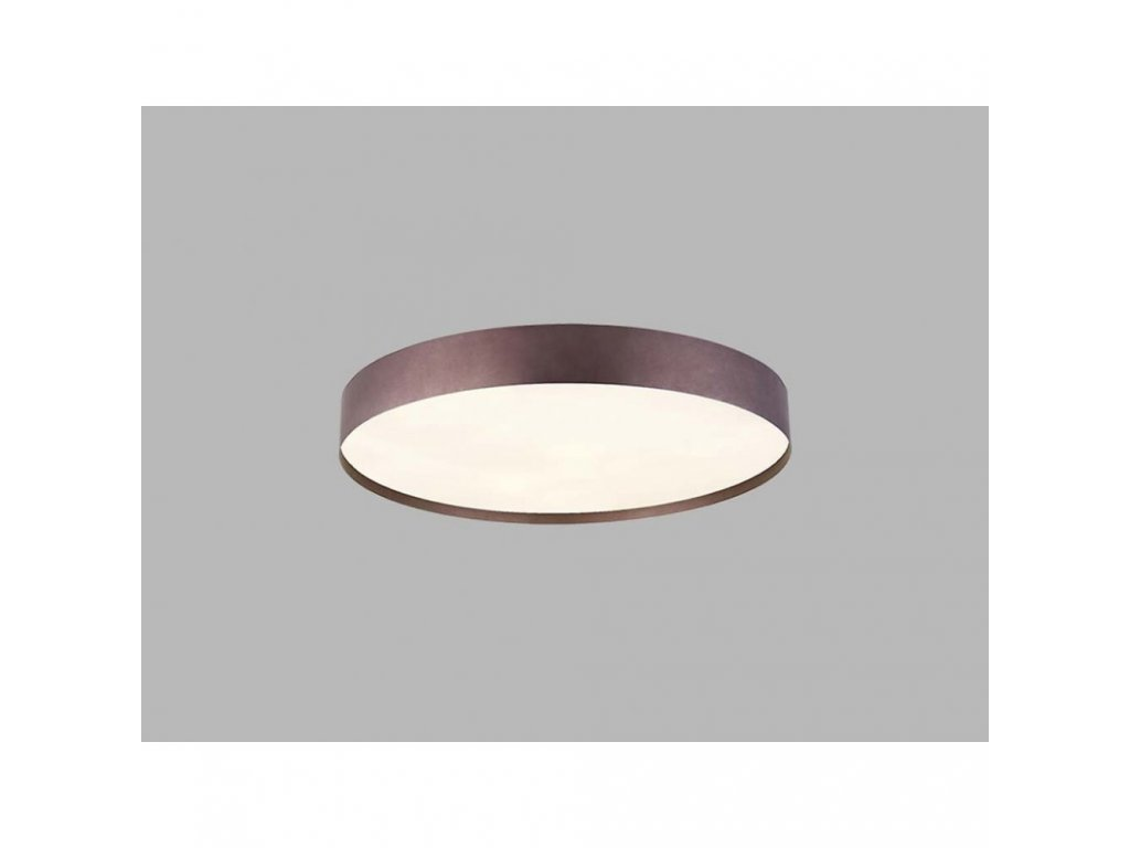 Stropní LED svítidlo ROMO ø 80 cm, kávová