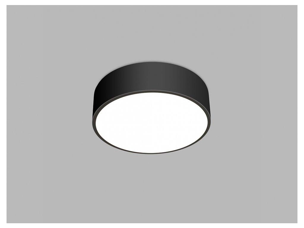 Stropní LED svítidlo MONO ø 60 cm, černá