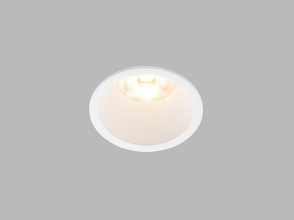 Zápustné LED svítidlo RAY M ø 7,5 cm, bílá