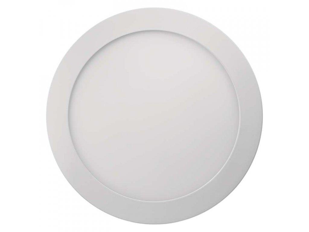 LED přisazený panel ø 224 mm, 18W, kulatý