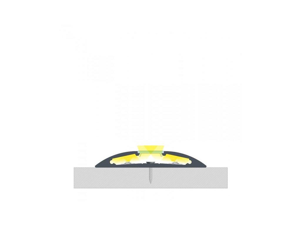 hlinikovy profil lista povrchova reto 116