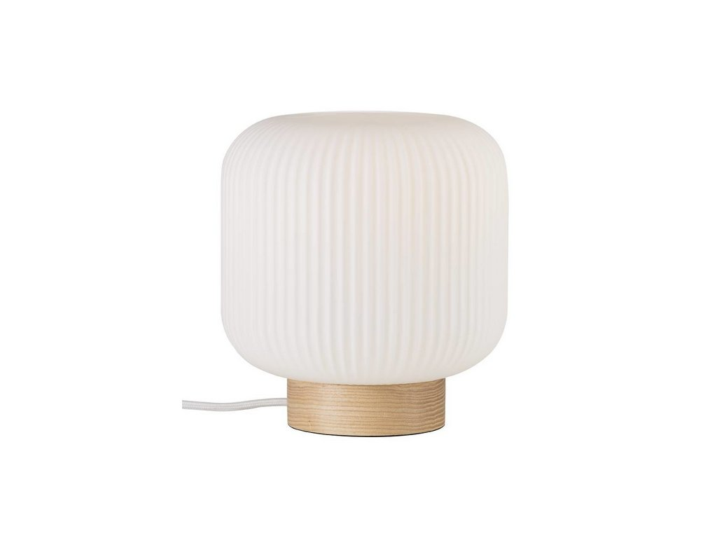 Stolní lampa MILFORD WOOD ⌀ 20 cm