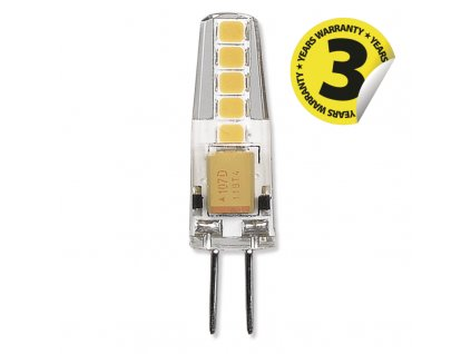 LED žárovka Classic JC 2W 12V G4 teplá bílá