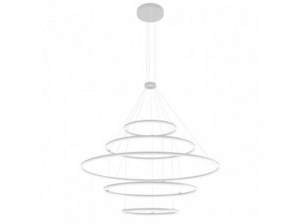 Závěsné LED svítidlo ORBIT ø 150 cm,  v. 250 cm