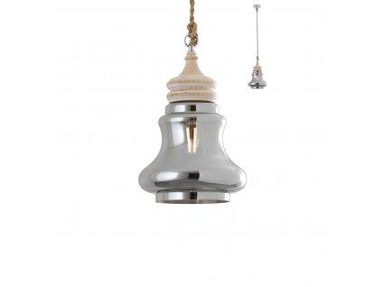 Závěsné svítidlo KASHI ø 25 cm, v. 165 cm