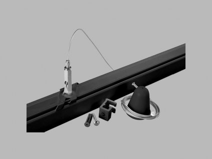 3305 1 led2 pro track pro ez0448 b wire suspension ezclick 3m black barva cerna