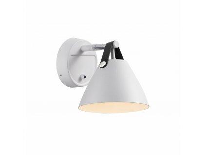 Nástěnné svítidlo Nordlux Strap 15 (bílá) 84291001