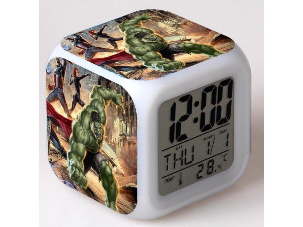 hodiny avengers hulk