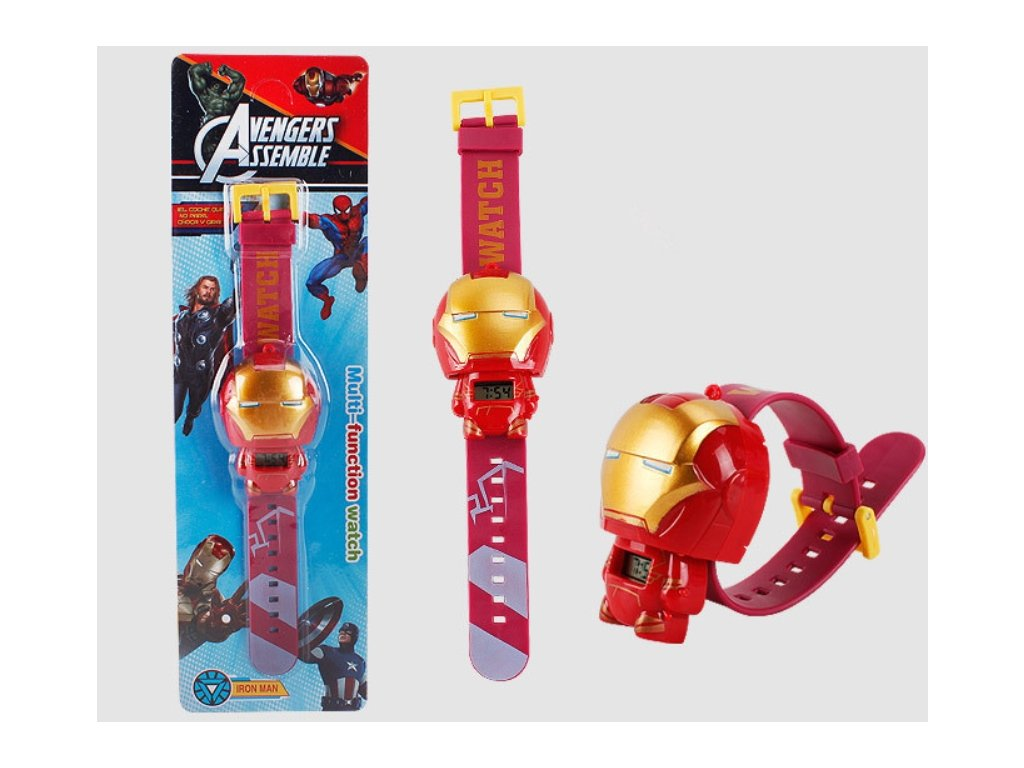 dětské hodinky iron man