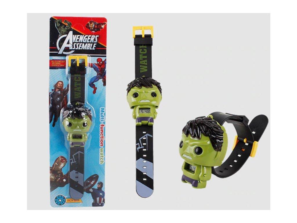 dětské hodinky Hulk