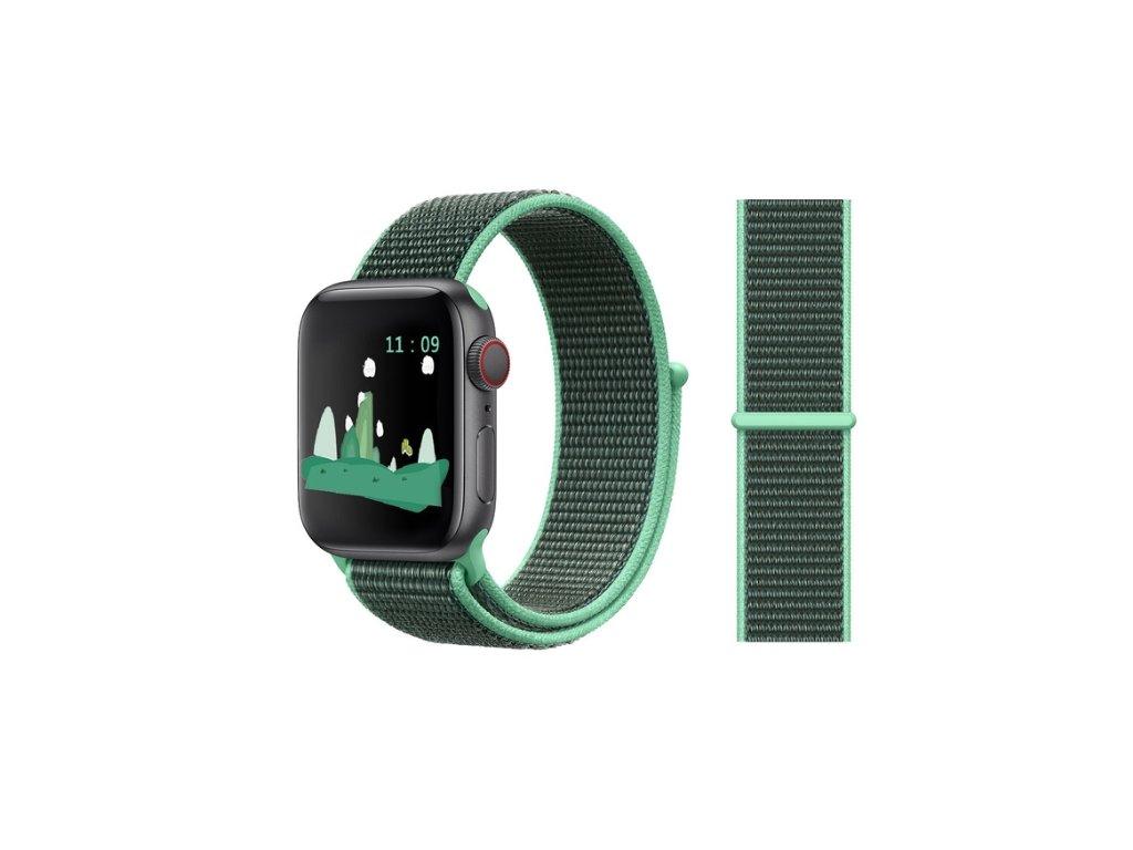 řemínek apple watch green