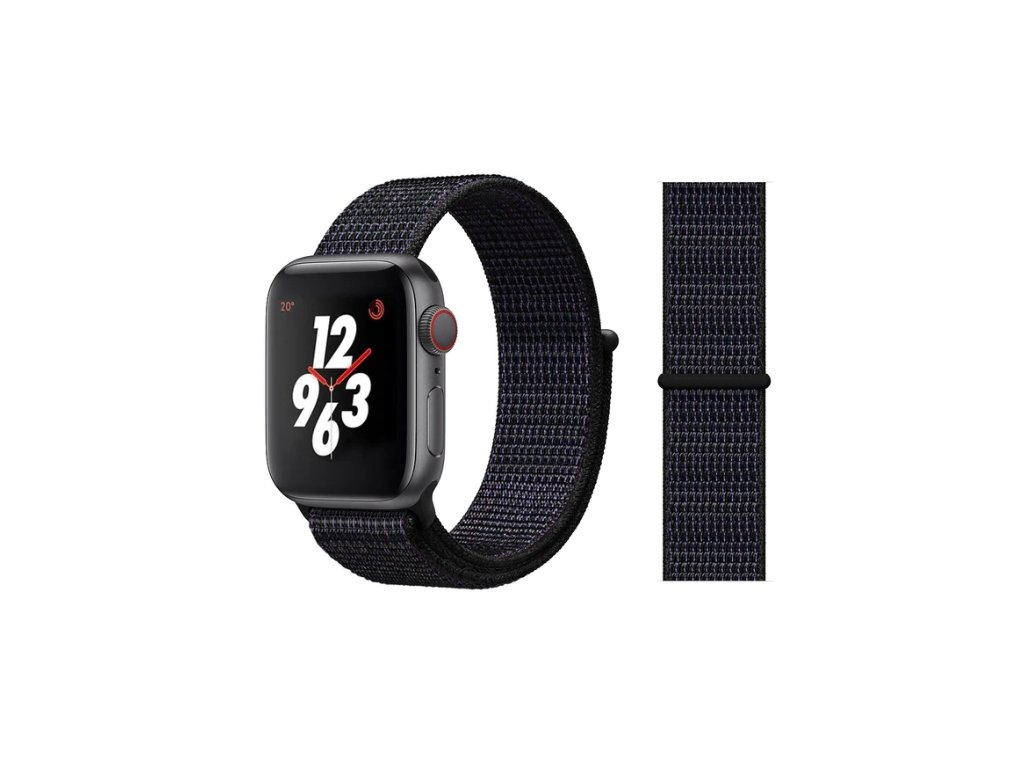 řemínek apple watch černý