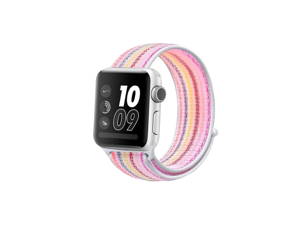 řemínek apple watch barevný