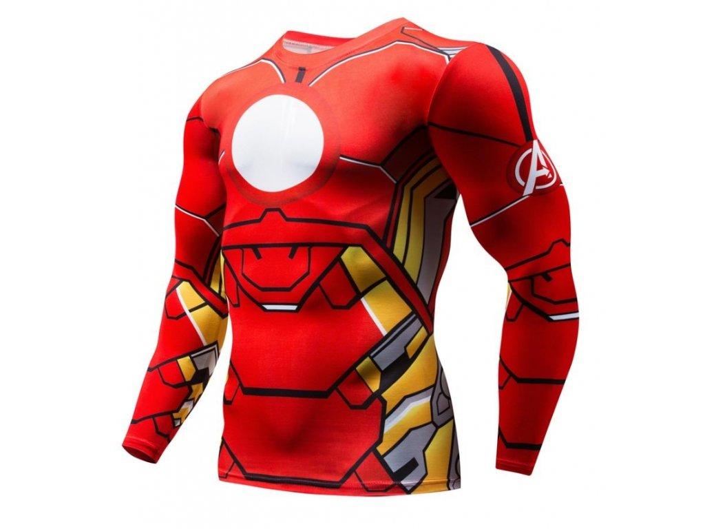 tričko iron man 3