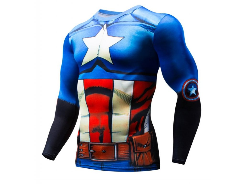 tričko kapitán amerika 9